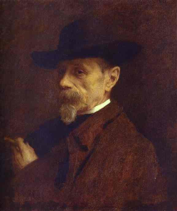 Portrait of the Photographer Andrey Denier. 1883