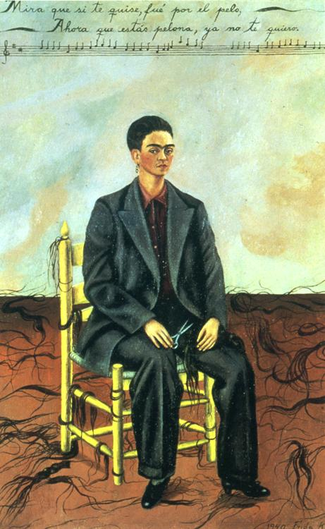 Self-Portrait with Cropped Hair. 1940