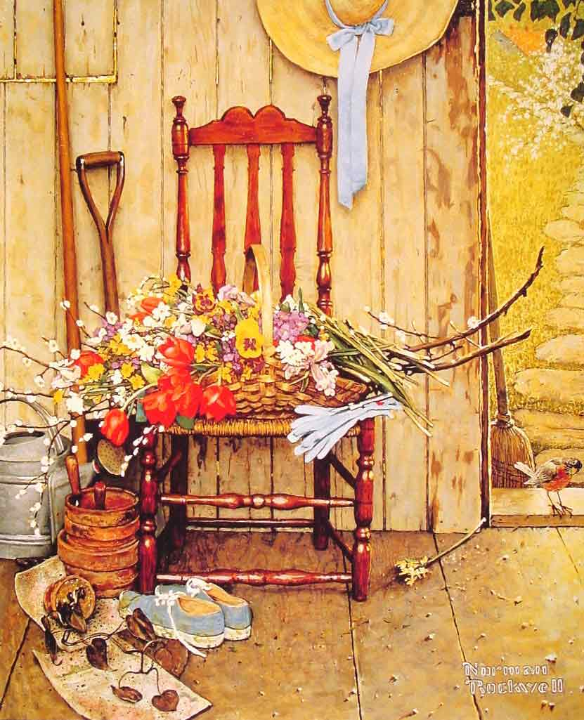 Spring Flowers,1969