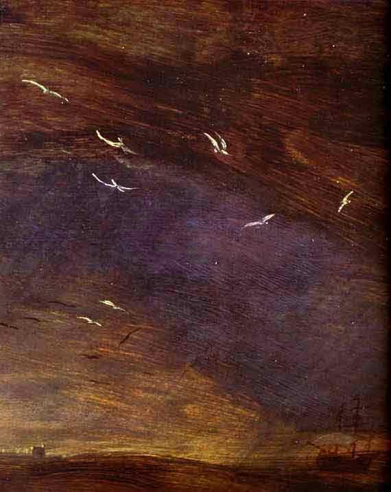 Storm at Sea. Detail. 1569