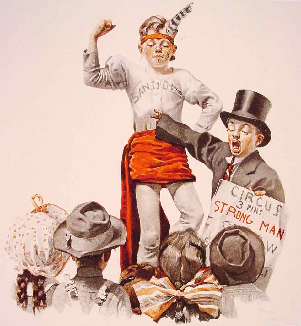 The Circus Barker,1916