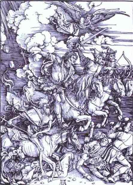 The Four Horsemen of the Apocalypse. 1498