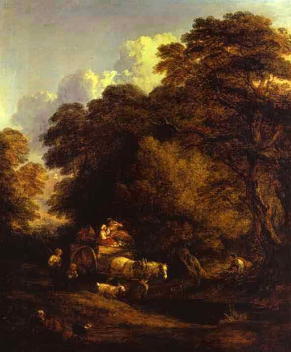 The Market Cart. 1786