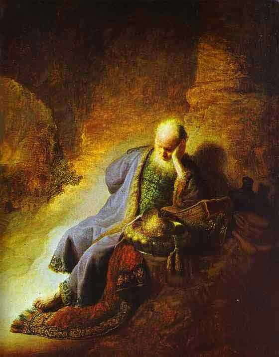 The Prophet Jeremiah Mourning over the Destruction of Jerusalem. 1630