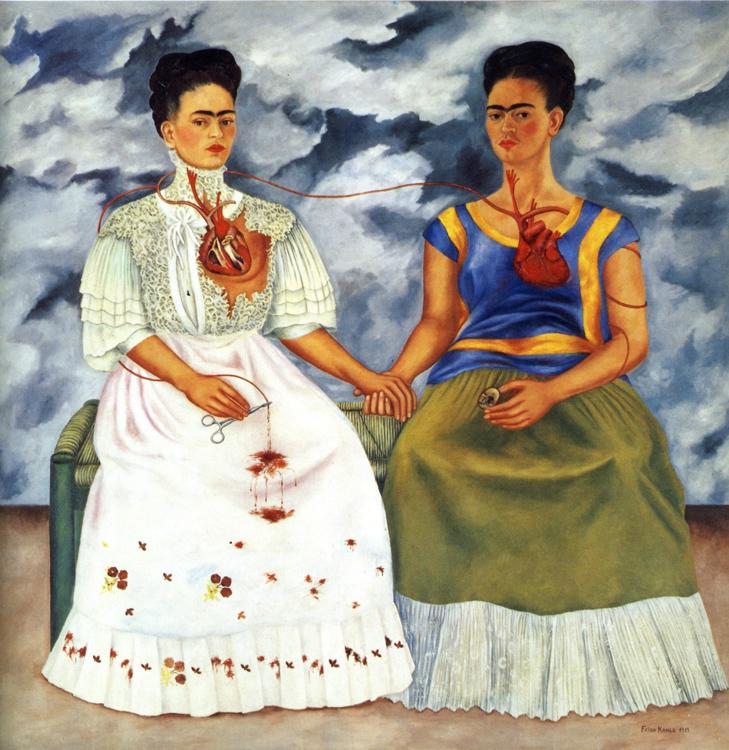 The Two Fridas. 1939