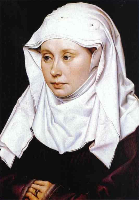 Portrait of A Woman. c. 1430