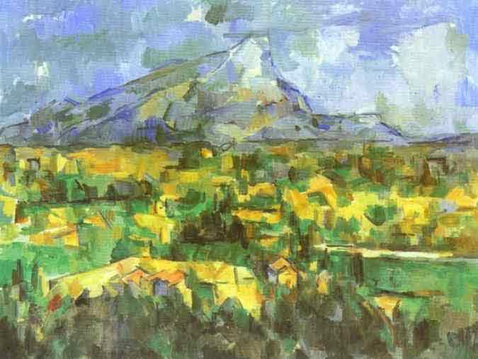 Mount Sainte-Victoire. 1904-1906