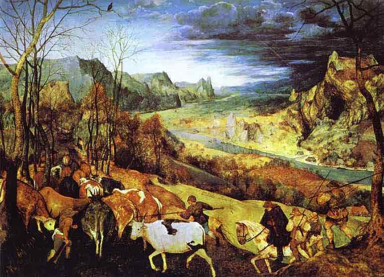 The Return of the Herd (November). 1565