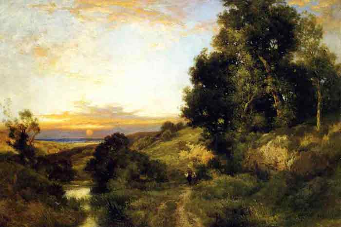 A Late Afternoon in Summer, 1909