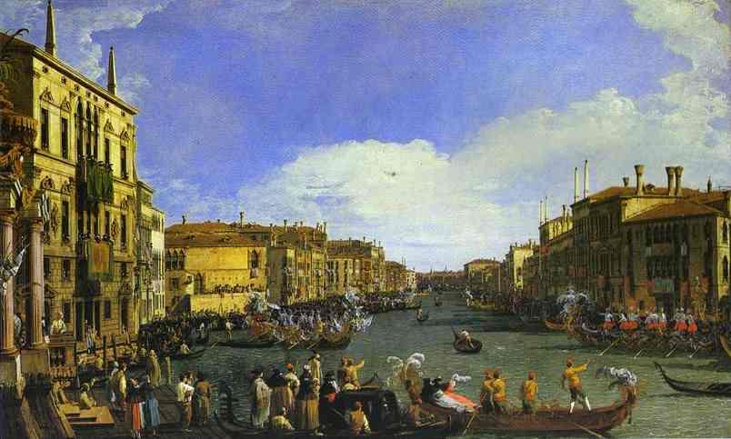 A Regatta on the Grand Canal. c. 1732