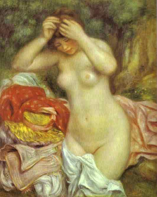 Bather Arranging Her Hair. 1893