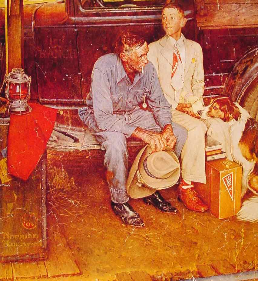 Breaking Home Ties,1954