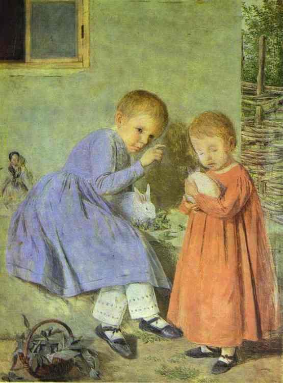 Children. Daughters of the Artist. 1845