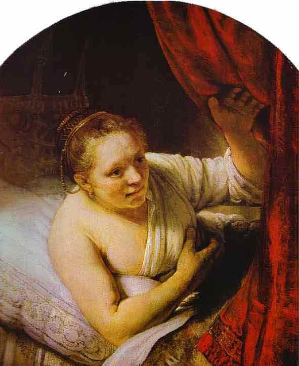 Hendrickje in Bed. c. 1648
