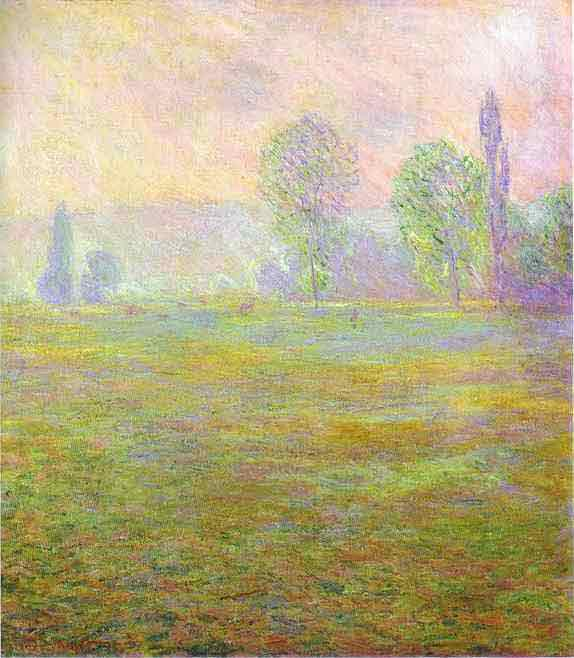 Meadows at Giverny 1888.