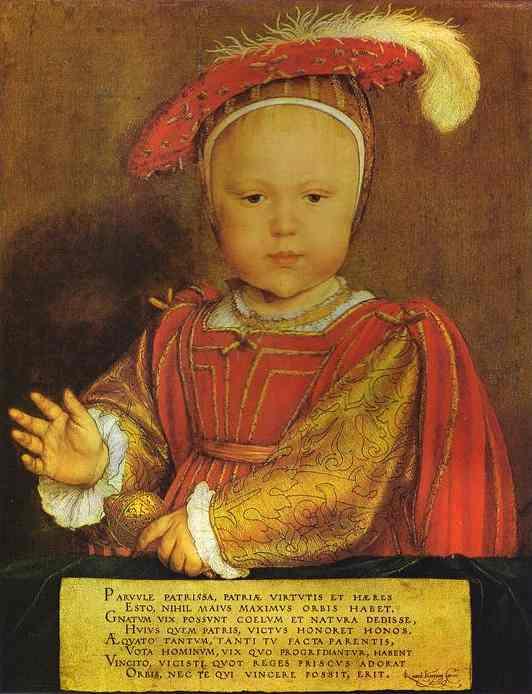 Portrait of Edward, Prince of Wales. 1539