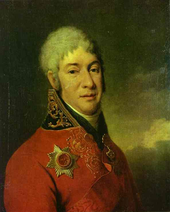 Portrait of I. V. Lopukhin. 1802