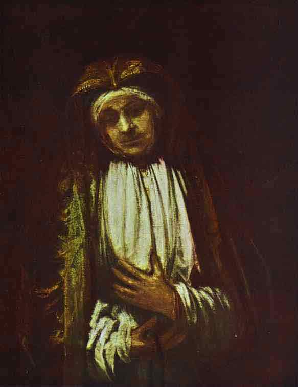 Portrait of an Old Woman. 1661