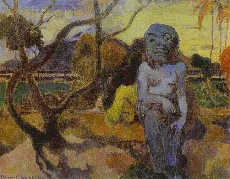 Rave te hiti aamy (The Idol). 1898