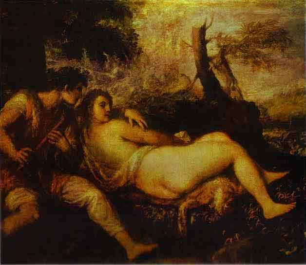 Shepherd and Nymph. c.1570