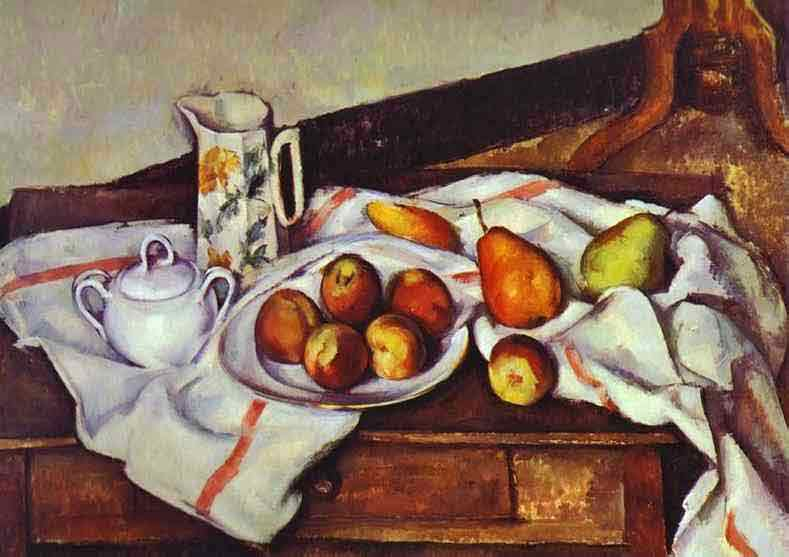Still Life with Peaches and Pears. 1888