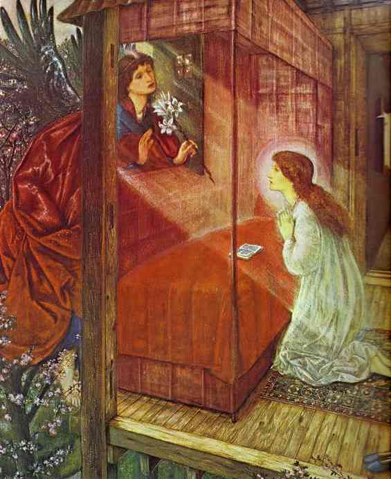 The Annunciation. The Flower of God. 1862