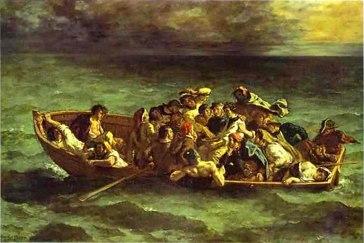 The Shipwreck of Don Juan. 1840