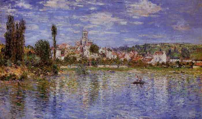 Vetheuil in Summer , 1880