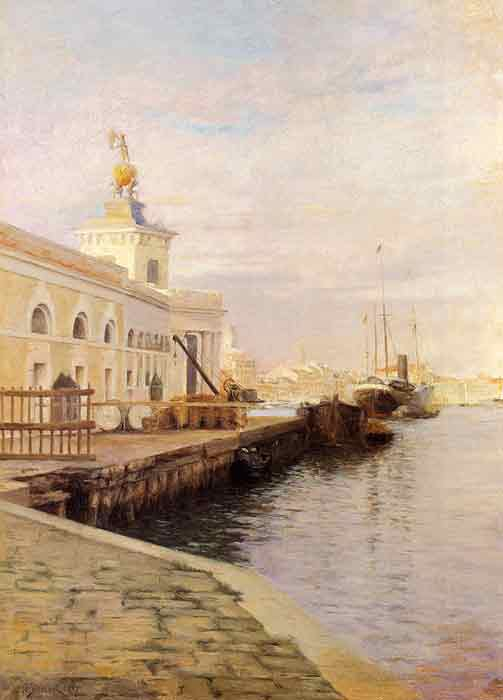 View Of Venice (The Dogana), 1907