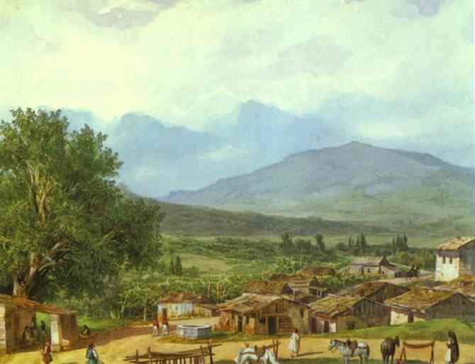 Village of San Rocco near the Town of Corfu. 1835