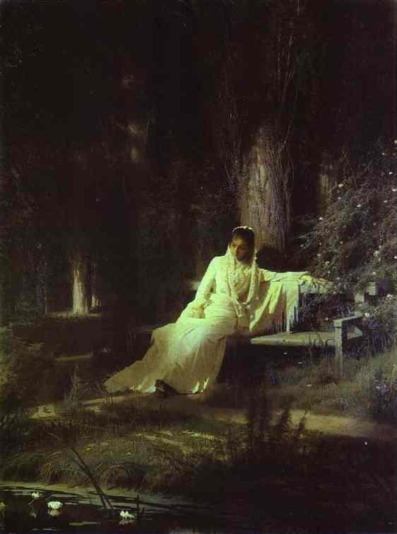 Moonlit Night. 1880