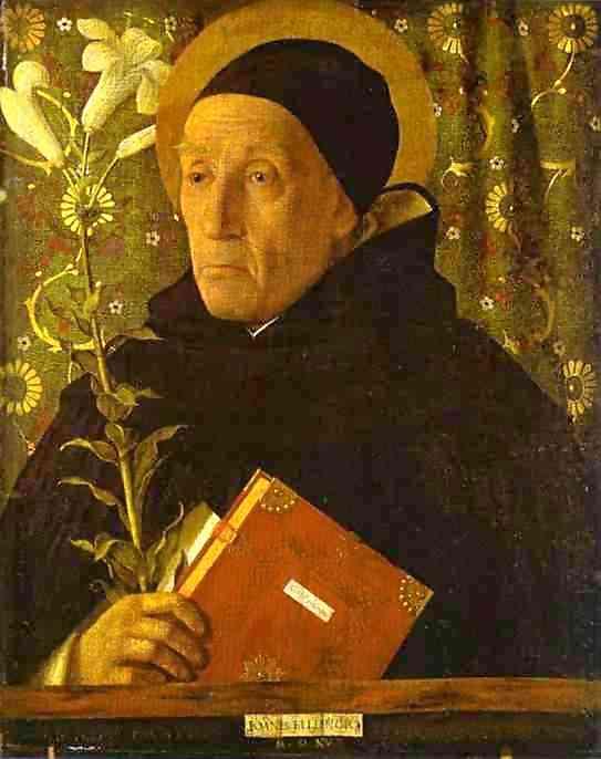 Portrait of Fra Theodoro da Urbino. 1515