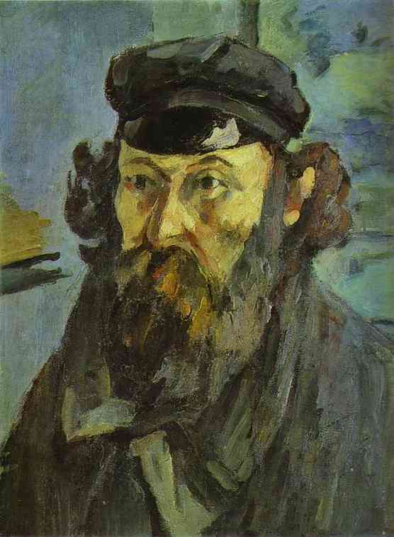 Self-Portrait with a Casquette. 1873