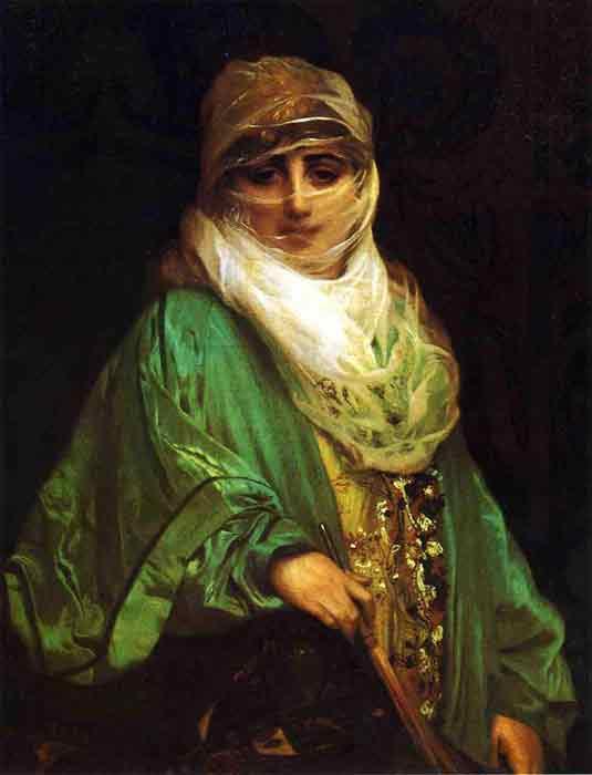 Oil painting for sale:Femme De Constantinople , 1876