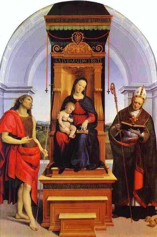 Ansidei Madonna. c.1505