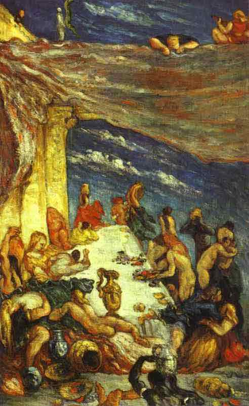 Le Festin (The Banquet). c. 1870