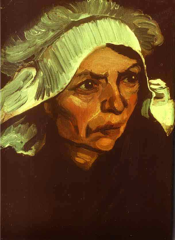 Peasant Woman. March 1885