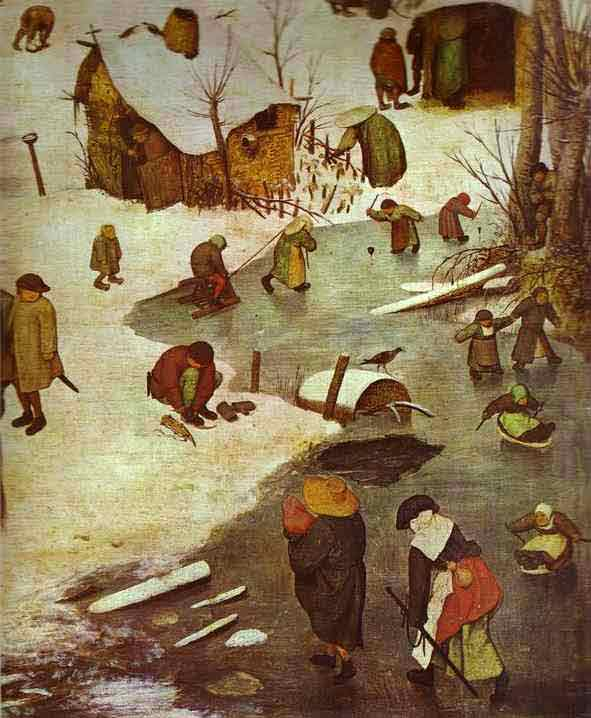 The Numbering at Bethlehem. Detail. 1566