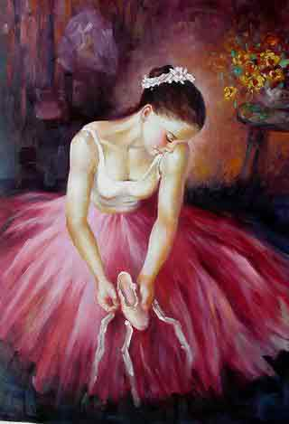 Oil painting for sale:Ballet_18