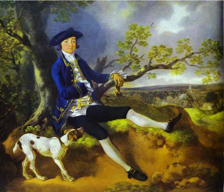 Oil painting:John Plampin. About 1753