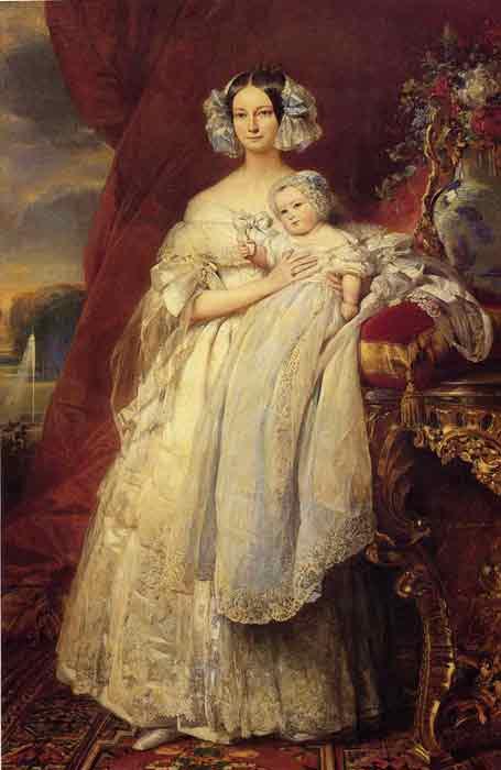 Oil painting for sale:Helene Louise Elizabeth de Mecklembourg Schwerin, Duchess D