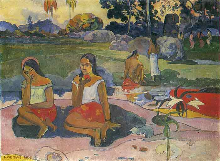 Oil painting for sale:Sacred Spring , 1894