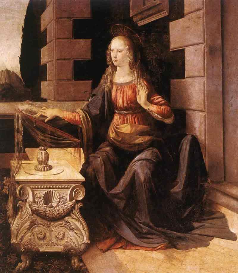 Annunciation (detail 2)