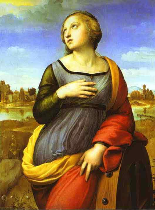St. Catherine. c. 1508