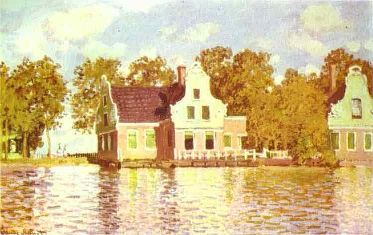 The House on the River Zaan in Zaandam 1871.