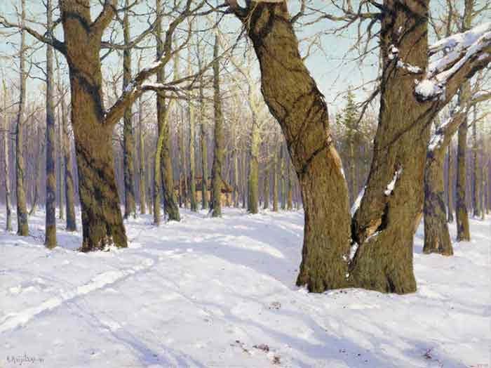 Oil painting for sale:Autumn Landscape. 1910