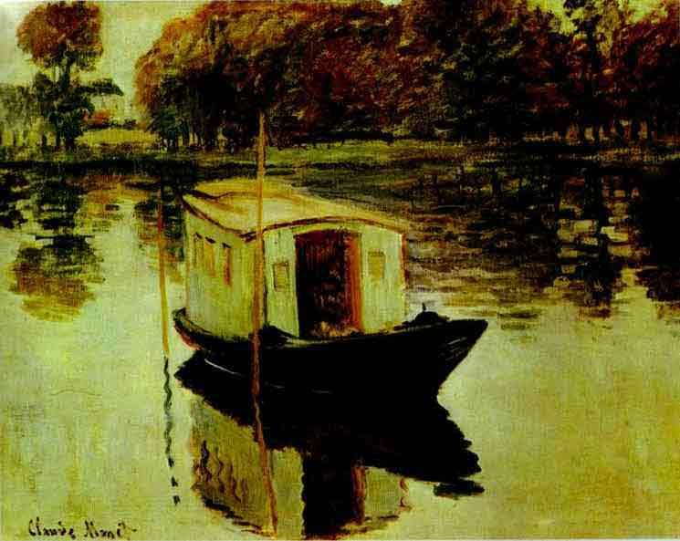 The Studio Boat. 1874.