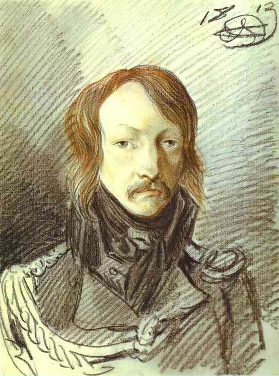 Oil painting:Portrait of A. P. Lanskoy. 1813
