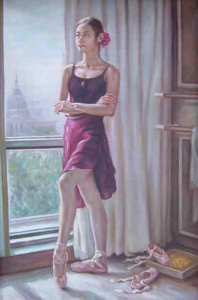Oil painting for sale:Ballet_22