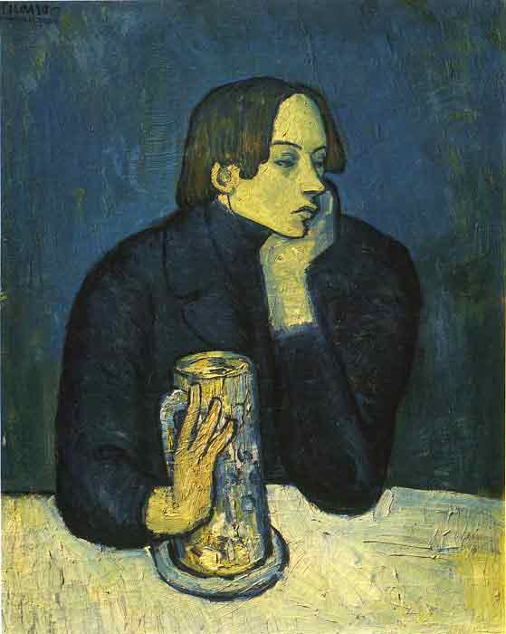 Oil painting for sale:Portrait of a Poet, 1902